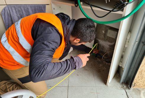 Recherche de regard Télécom - Détection de blocage fourreau fibre optique