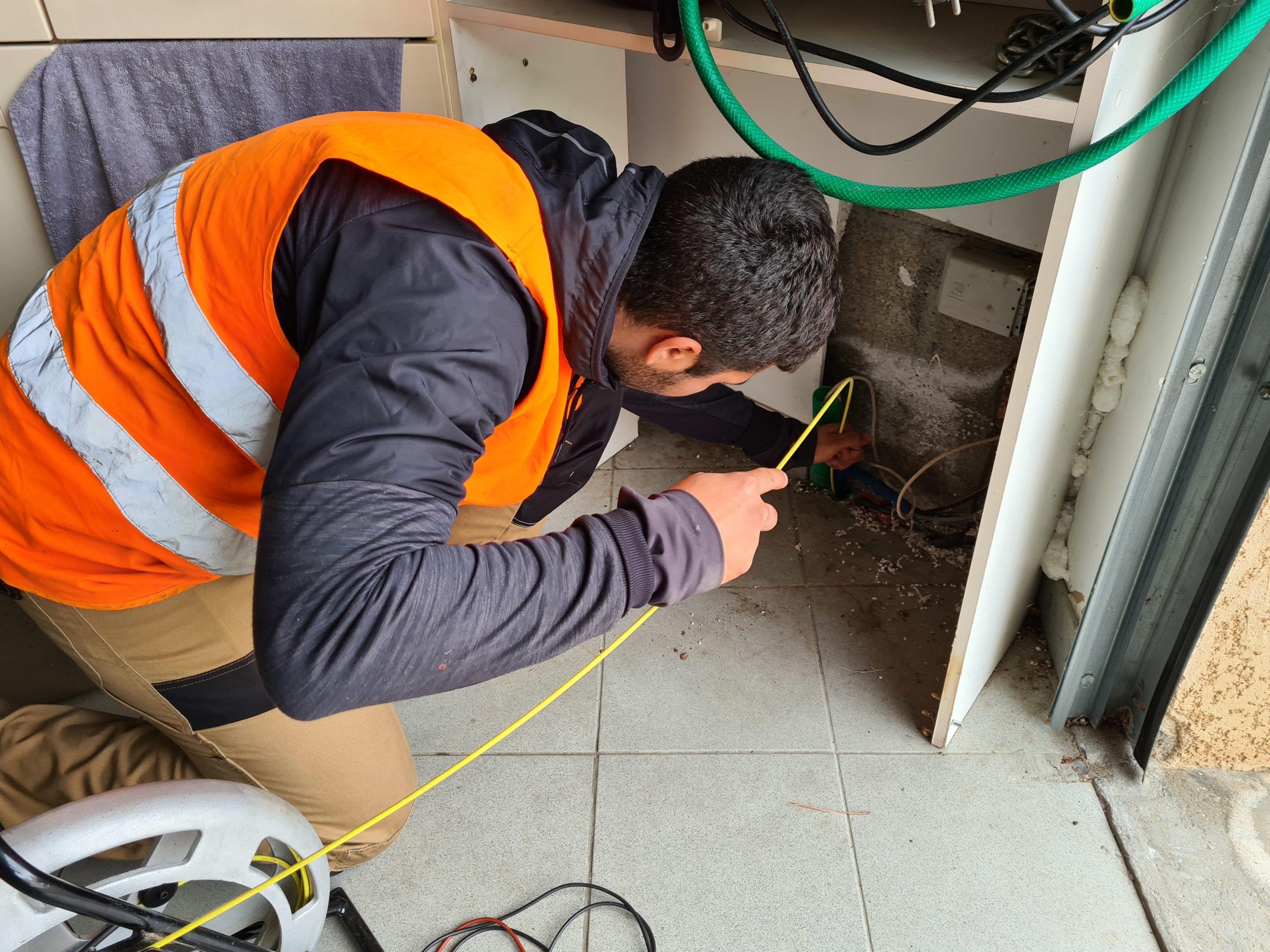 Recherche de regard Télécom – Détection de blocage fourreau fibre optique